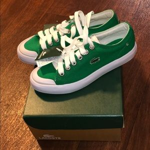Brand new Lacoste tennis shoes
